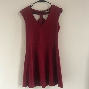 Charlotte Russe Burgundy Party Dress